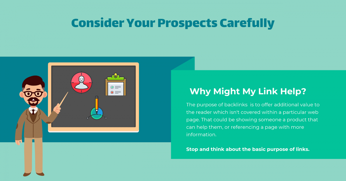 consider your prospects